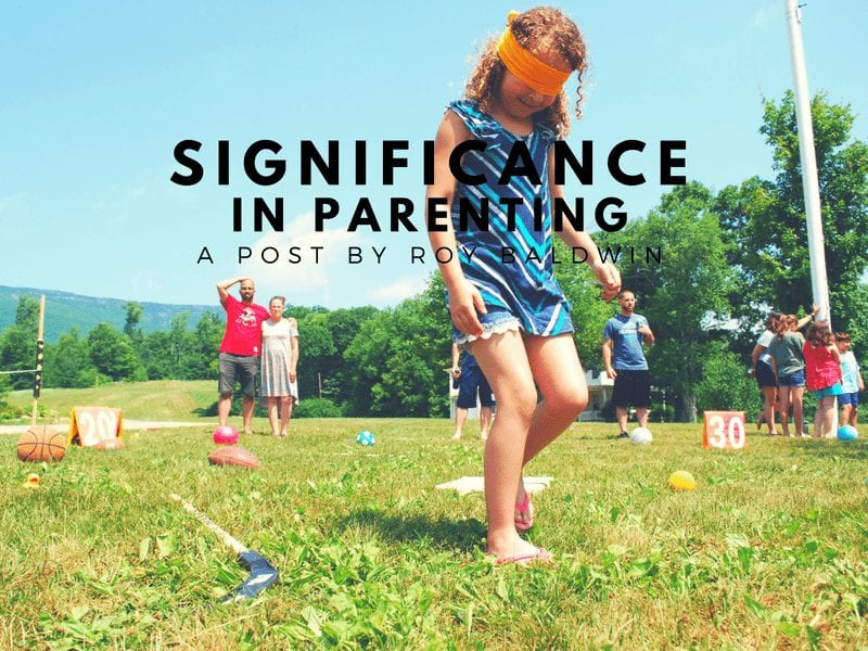 Significance in Parenting